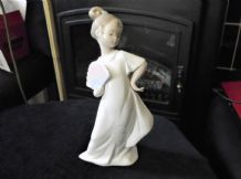 COLLECTABLE NAO LLADRO PASTELS GIRL FIGURINE DAISA 2003 1455 EXCELLENT CONDITION